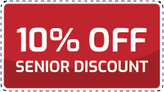 Coupon 10% off senior discount