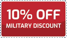 Coupon 10% off military discount